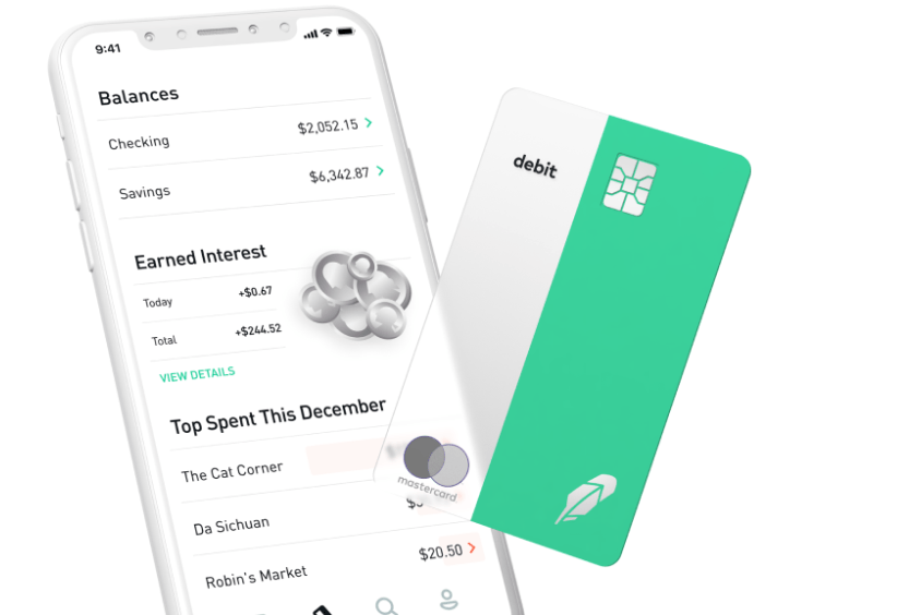 Robinhood Launches No-Fee Checking and Savings Accounts with 3% Interest
